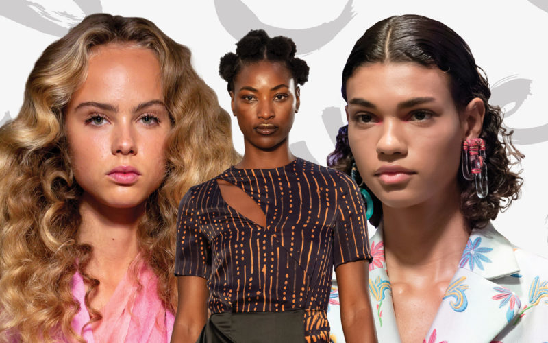 34 Curly Hairstyle Ideas Plucked Straight from the Spring 2020 Runways