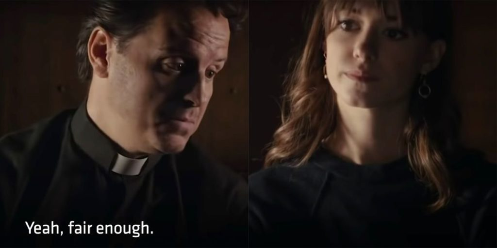 Normal People's Marianne and Connell Meet Fleabag's Hot Priest in Normal People Special
