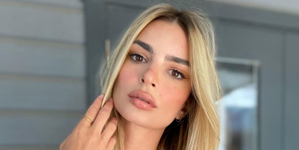Emily Ratajkowski Debuts Blonde Hair Transformation and Talks About What She's Been Up To in Quarantine