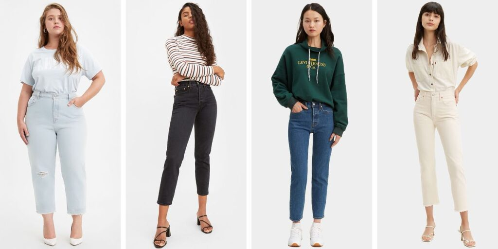 Almost Everything at Levi (Including Instagram's Favorite Rib Cage Jeans) are on Sale Right Now
