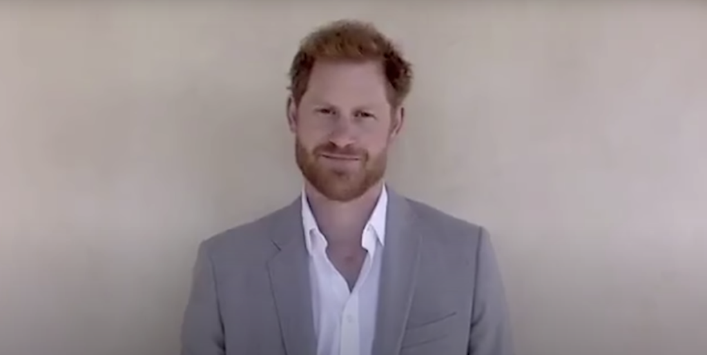 Prince Harry Acknowledges Black Lives Matter In Diana Awards Speech