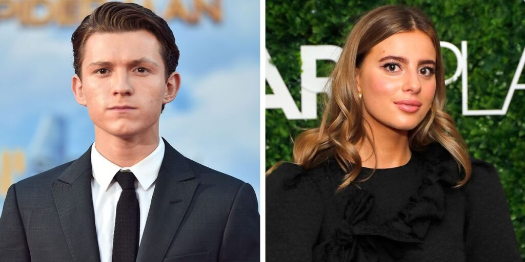 Tom Holland's Girlfriend Nadia Parkes Makes Their Dating Instagram Official