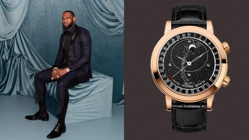 LeBron James Is a Hall-of-Fame Watch Collector, Too