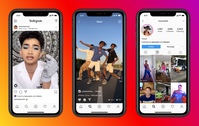 Instagram Just Launched a TikTok-Like Video Feature Called Reels