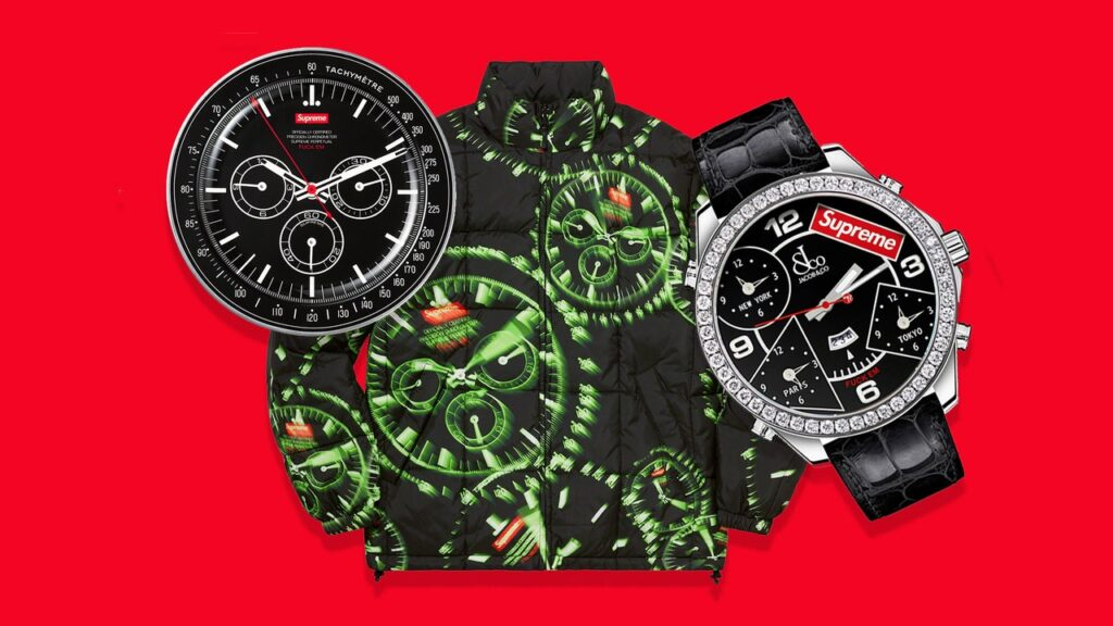 Supreme Releases Its Watch-iest Collection Ever