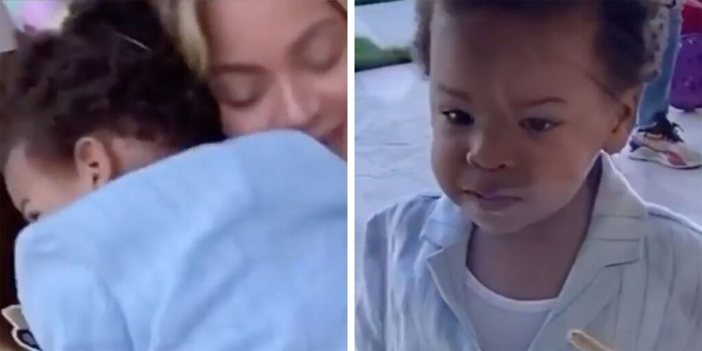 Watch Video of Beyoncé Dancing With Son Sir During 'Black Is King' Filming