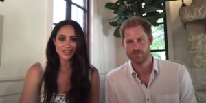 See Meghan Markle and Prince Harry's First Appearance in New Montecito Home