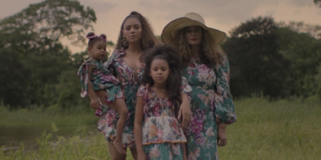 "Rumi and Sir Make a Rare Appearance in Beyoncé's ""Black Is King"""