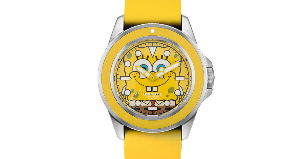 Putting a Cartoon on a Watch Can Be Serious Business