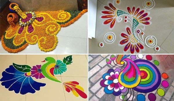 Welcome 2021 With New Year Rangoli Designs To Try