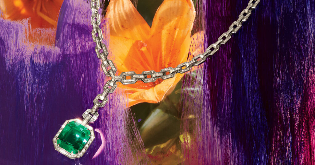 An Emerald Pendant Plucked From a Designer's Own Collection
