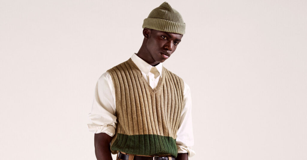 The Sweater Vest Returns, and It's Sexy