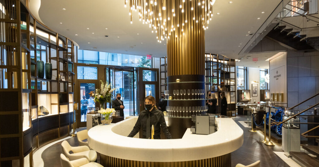 The Watch Retailer Bucherer Moves Into New York